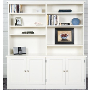 N12 - Four door bookcase