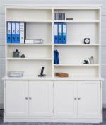 Newtown Office 4 door bookcase